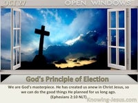 God's Principle of Election