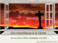 Our Inheritance is in Christ