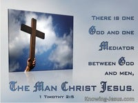 The Man Christ Jesus