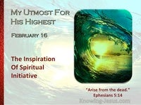 The Inspiration Of Spiritual Initiative