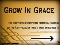Progression or Regression - Growing In Grace (3)