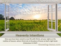 Heavenly Intentions