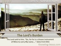 The Lord's Burden