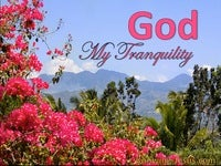 God, My Tranquility (All I Need-3)