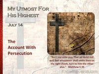 The Account With Persecution