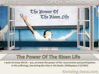 The Power Of The Risen Life