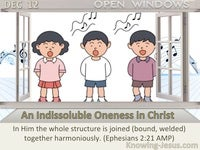 An Indissoluble Oneness in Christ