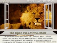 The Open Eyes-of-the-Heart