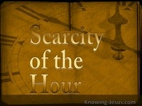 Scarcity of the Hour
