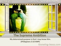 The Supreme Ambition