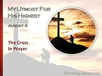 The Cross In Prayer