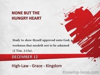 Law - Grace - Kingdom