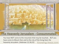 The Heavenly Jerusalem - Consummated