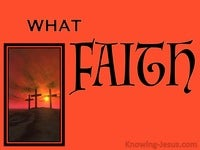 What Faith ?