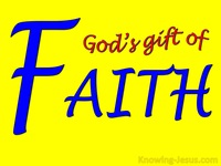 God's Gift of Faith - Man's Nature and Destiny (30)