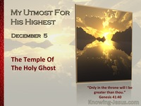 The Temple Of The Holy Ghost