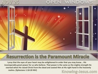 Resurrection is the Paramount Miracle