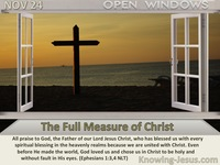 The Full Measure of Christ