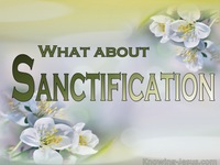 What About Sanctification?