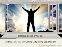 Witness of Praise
