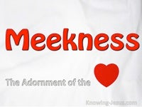 Meekness, The Adornment Of The Heart