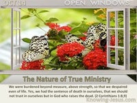 The Nature of True Ministry