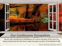 Our Continuous Occupation