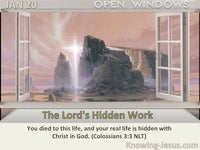 The Lord's Hidden Work