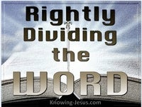 Rightly Divided
