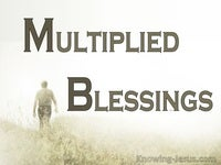 Multiplied Blessings