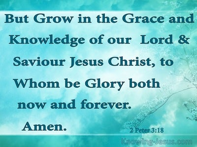 Faith and God's Grace - Growing In Grace (11)