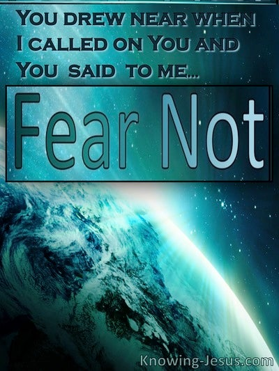 Fear Not Life - (Thoughts on FEAR - 1)