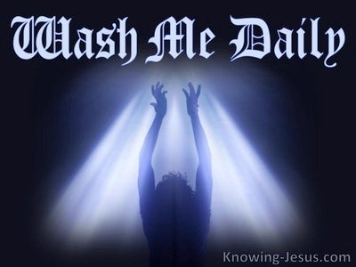 Wash Me Daily - Study in Prayer (6)