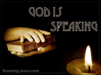 God Is Speaking