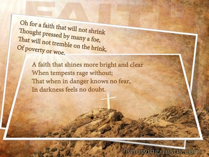 God, My Faith (Study In God - All I Need-12)